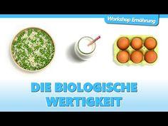 EIWEIß (2/4): Die Biologische Wertigkeit | Workshop Ernährung - YouTube