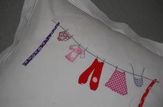 Babydecken - Kissen zur Geburt Kissenbezug - ein Designerstück von sincerelyyours bei DaWanda