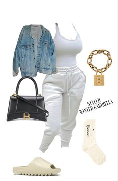 Summer Swag Outfits, Cute Lazy Outfits, Curvy Girl Outfits, Cute Swag Outfits, Chill Outfits, Girls Fashion Clothes, Winter Fashion Outfits, Baddie Outfits Casual, Sporty Outfits
