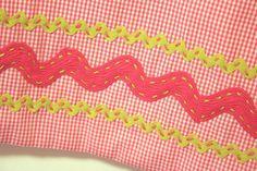 Hand sewn ric-rac detail | Flickr - Photo Sharing!