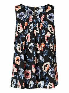 Cute floral printed top from VERO MODA. #veromoda #floral #top #summer