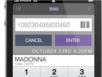 Manual Bar Code Entry #Flat #Design #UI