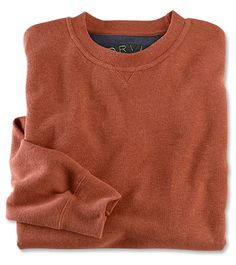 21d46e99a57 Just found this Soft Cotton Crew Neck Pullover Sweatshirts - Heathered Signature  Softest Pullover Sweatshirt -