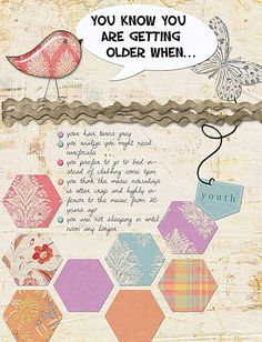 You know you are getting old when... by Rikkis, via Flickr