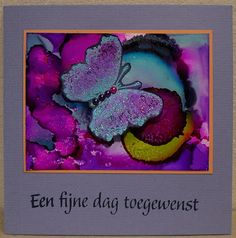 Marianne's Blogje - alcohol inks