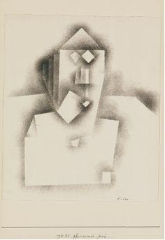 Paul Klee, Physiognomic-Severe on ArtStack #paul-klee #art