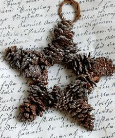 Pretty idea for a door wreath, leave it simple or glam it up with more sparkle or a bow?