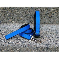 Isabella Cane Extra Small Blue Collar-Leash Set