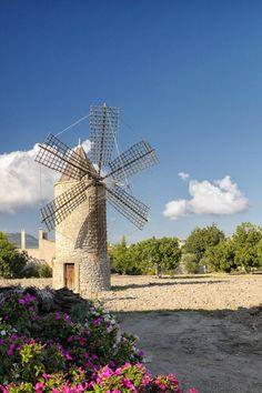 Flour mill, #Majorca. #Spain