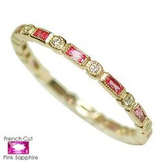 18kt Diamond And Ruby Eternity band......somebody tell my hubby this would make an awesome anniversary gift!