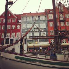 beautiful historic architecture in Copenhagen