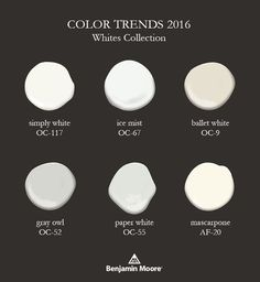 Postcards from the Ridge: Color Trends & 2016 Color of the Year ~ Simply White Source by mochamuffingirl 2016 White Paint Colors, Neutral Paint, Interior Paint Colors, Paint Colors For Home, White Paints, Wall Colors, House Colors, Gray Paint, Interior Design