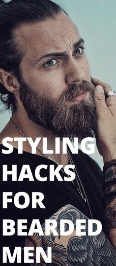 Styling Hacks For Bearded Men
