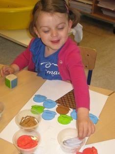 Kleurenspel ijsje
