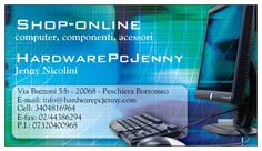 Biglietti da visita HardwarePcjenny Shop Online