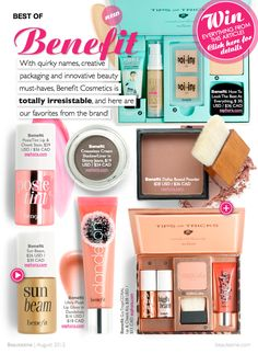 Best Of Benefit Cosmetics (& You Can Win Them All Too!) | Beautezine