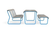 Iconi lavička stůl souprava