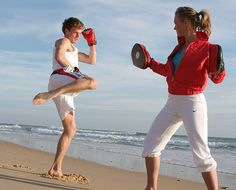 Have a kickboxing lesson in Barbados