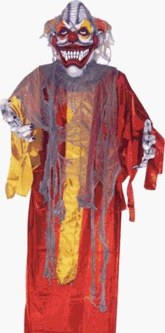 Hanging Scary Clown Halloween Prop by BOS. $132.14