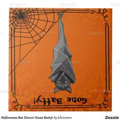 Get your hands on Zazzle's ceramic tiles. Search through our wonderful designs & find great tiles to decorate your home! Creepy Halloween Decorations, Halloween Bats, Decorating Your Home, Tiles, Batman, Ceramics, Superhero, Fictional Characters, Design