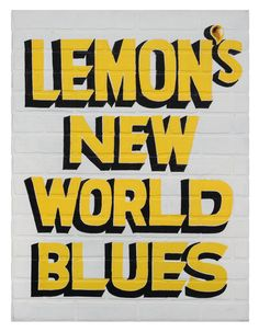 """Happy Black History Month! We love this work by Jamal Cyrus in collaboration with Walter Stanciell, a Houston-based sign painter. It references Blind Lemon Jefferson, known as """"Father of the Texas Blues,"""" and the text is from a poem by K. Curtis Lyle that was incorporated into an album by Julius Hemphill. #mkgwatchlist #mkgartmanagement #mkgart #houstonart #contemporaryart #cultureplace #celebrateblack #blackhistorymonth #houstonartist #htx #blues #jamalcyrus #inmangallery High Museum, New Museum, African American Museum, American Art, London Docklands, University Of Houston, Happy Black, Art Watch, London Museums"""
