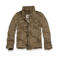 Nice looking spring jacket - Abercrombie & Fitch Sentinel Jacket $120