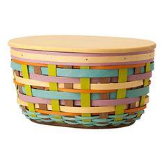 Spring Weave Oval Bowl Basket shopus.Longaberger.com/1801804
