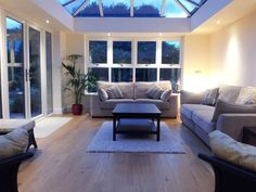 Orangeries, Conservatory, Sun Rooms Conservatories, Sun Room, Gallery Wall, Lounge, Rooms, Couch, Windows, Furniture, Home Decor