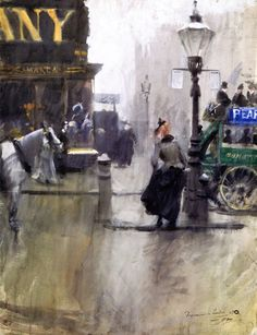 The Athenaeum - Impressions of London (Anders Zorn - )
