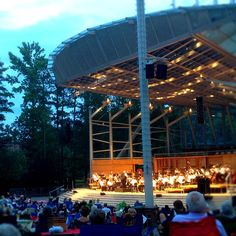 Koka Booth Amphitheater - NC Symphony. Cary, NC concerts, wine tastings, fireworks,