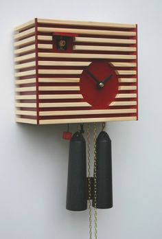 Modern cuckoo clock by ROMBA, the inventors of the cuckoo clock of the third generation. The cuckoo clock manufacturer with a penchant for the eccentric between traditional and modern. Contemporary Cuckoo Clocks, Modern Cuckoo Clocks, Modern Clock, Clocks For Sale, Cool Clocks, Modern Decor, Modern Design, Modern Art Styles, Clock Shop
