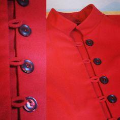 #jacket #jacke #nähen #handarbeit #handmade #sewing #button #knopf #knöpfe