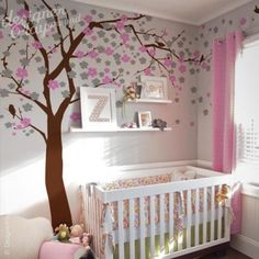 Flower Blossom Tree wall decal wall sticker   http://designerplayground.com/index.php?route=product/product=18_65_id=122