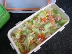 The Little Kitchen of Silvia: Ensalada de arroz para llevar al trabajo