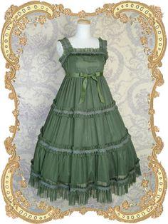 Juliette et Justine / Jumper Skirt / Princesse Dans Forêt Robe