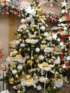 Albero Di Natale Online.Le Migliori 52 Immagini Di Idee Creative Addobbi Albero Di Natale