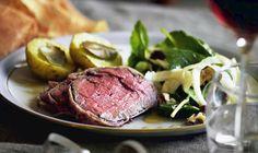 Lækker oksemørbrad med spændende tilbehør - her får du opskriften på oksemørbrad med Meat, Foods, Food Food, Food Items