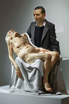 Sam Jinks - artist Saw this at Shepparton and it is so lifelike as is all his work. Google Image Result for http://jmcolberg.com/weblog/archives/SamJinks.jpg