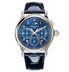 Patek Philippe Grand Complications 5372 | This Patek Philippe watch features a split-seconds chronograph and a perpetual calendar