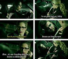 Arrow and Felicity