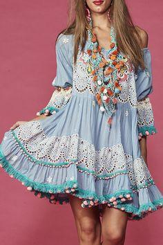 """Estilo hippie - moda look"""" mariabunita"""" - Moda Hippie, Moda Boho, Boho Chic, Bohemian Style, Vintage Bohemian, Boho Outfits, Fashion Outfits, Fashion Games, Fashion Clothes"""