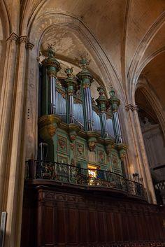 Orgel in der Cathédrale St-Sauveur - Aix-en-Provence