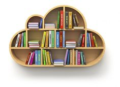 para soñar mientras lees #cloud #shelf #books