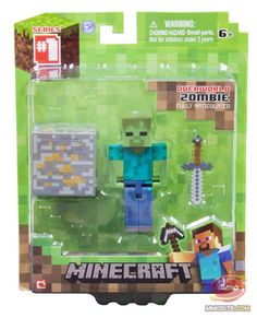 Hold on! Back in June, UK distributor Character Options was confirmed as the UK supplier of Minecraft toys. What's more, Character Options released details about its hotly anticipated line of Minecraft figures and playsets earlier today.