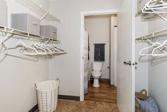 Our large, walk-in closets provide plenty of room for all of your clothes, shoes, and anything else you might toss in there.