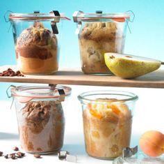 Kuchenvariationen im Glas