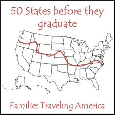 50 States Before They Graduate