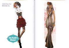 Congrats to Nicolas A., our June 2012 Sketch Contest Winner! Are you a budding fashion designer? Send your fashion sketches to fashionclub.com and you could be featured in our sketchbook! #FIDMFashionClub