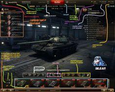 Word of Tanks kezdőknek #1 - A Hangár és az ott található dolgok - World of Tanks Magyar Portál