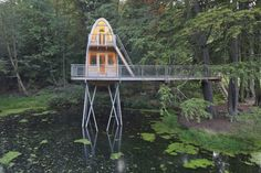 "Treehouse Solling by baumraum ""Location: Uslar, Germany"" 2010"